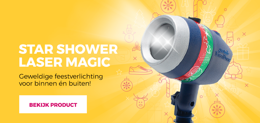 Star Shower Laser Magic