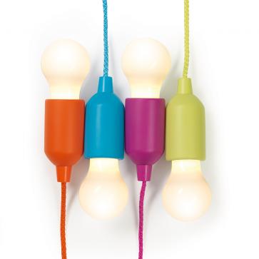 EASYmaxx LED-verlichting met koord (4-delig)