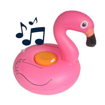 BluMill Opblaasbare Speaker - Flamingo